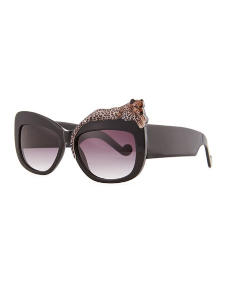73eba6369e6 Rose et la Mer  690. Picture. Empress Embellished Square Sunglasses ...